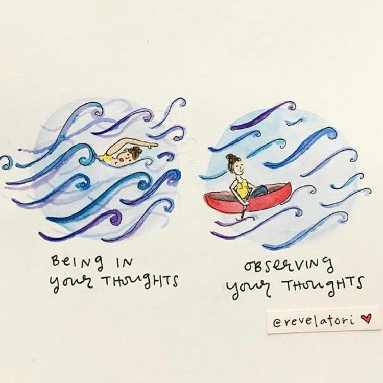 being in your thoughts